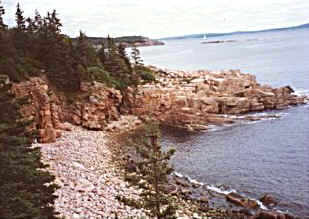 Water Scene in Acadia National Park
