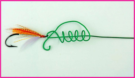 Locked half blood knot improved clinch and tucked half for Blood knot fishing