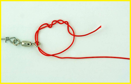 Big game loop or offshore swivel knot favorite knots for for Fishing swivel knot