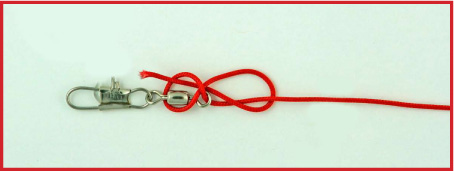 Fast swivel favorite knots for sports love the outdoors for Fishing swivel knot